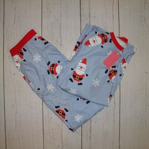 Pat Pat Pajama Set Top Pants Santa Christmas L